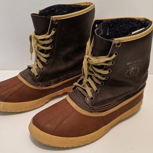 Sorel Arctic Pac insulated duck boots men size 11